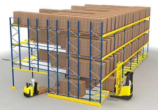 20210813Pallet Live Storage Racking System06